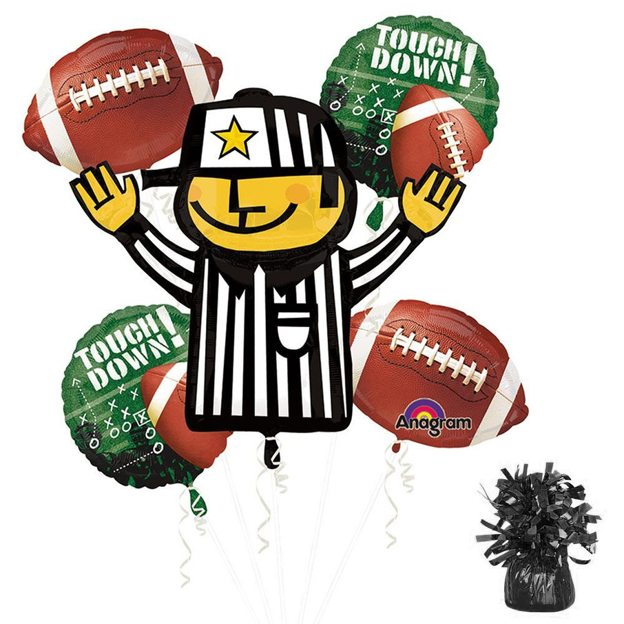 View larger image of Football Party Balloon Kit