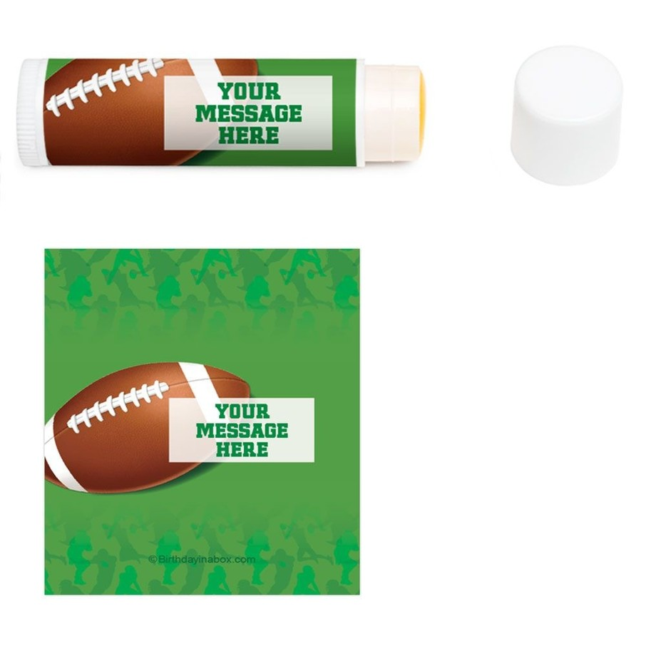 View larger image of Football Party Personalized Lip Balm (12 Pack)