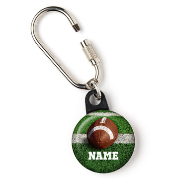 """Football Personalized 1"""" Carabiner (Each)"""