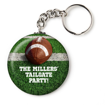 "Football Personalized 2.25"" Key Chain (Each)"