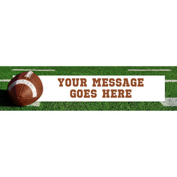Football Personalized Banner (Each)