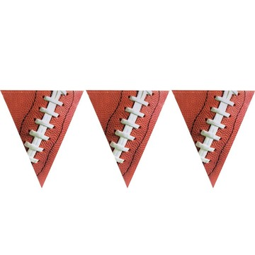 Football Spiral Flag Banner 12ft (Each)