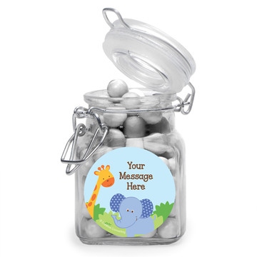 Forest Friends Personalized Glass Apothecary Jars (12 Count)