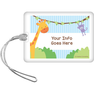 Forest Friends Personalized Luggage Tag (Each)