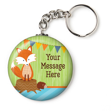 "Fox Personalized 2.25"" Key Chain (Each)"