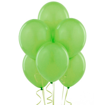 Fresh Lime (Lime Green) Balloons (6)