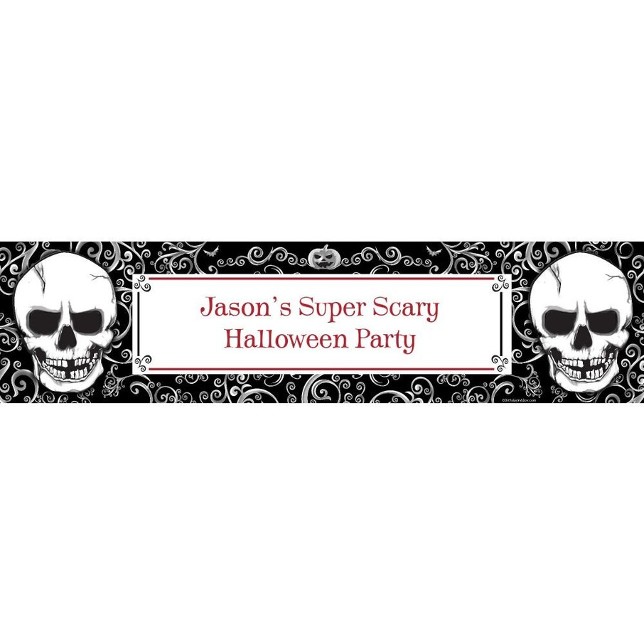 View larger image of Fright Night Personalized Banner (Each)
