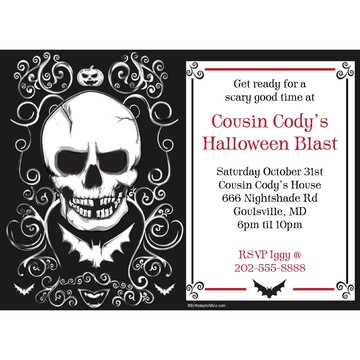 Fright Night Personalized Invitation (Each)
