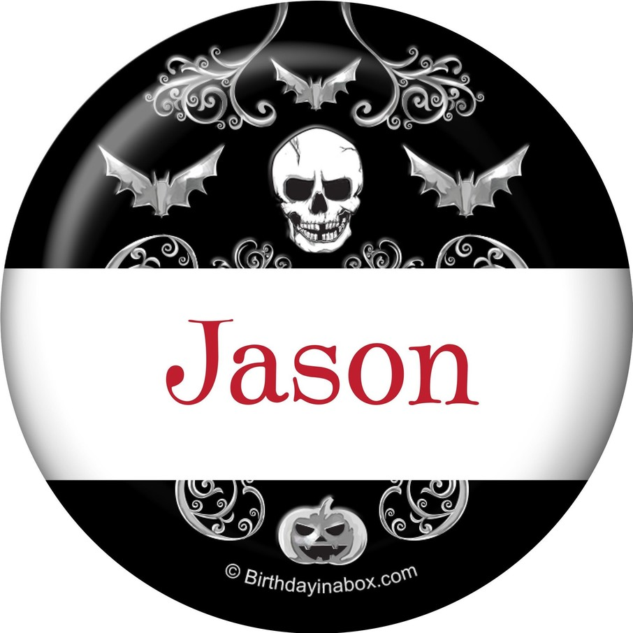 View larger image of Fright Night Personalized Mini Magnet (Each)
