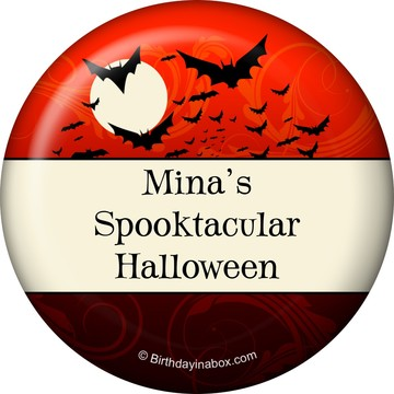 Frightful Personalized Button (Each)