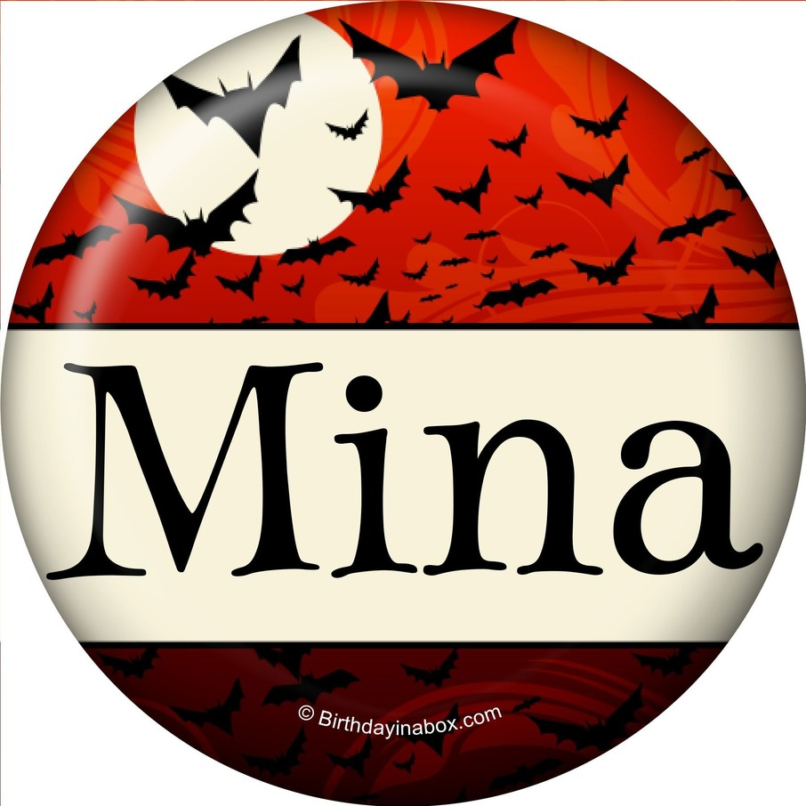 View larger image of Frightful Personalized Mini Button (Each)