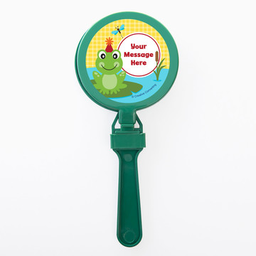Frog Pond Fun Personalized Clappers (Set of 12)