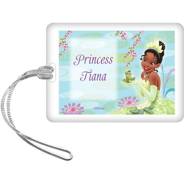 Frog Princess Personalized Bag Tag (Each)