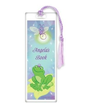 Frog Princess Personalized Bookmark (each)