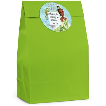 Frog Princess Personalized Favor Bag (Set Of 12)