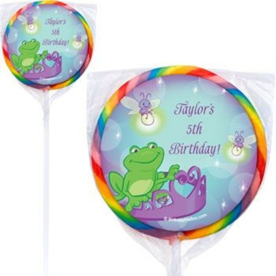 View larger image of Frog Princess Personalized Lollipops (pack of 12)