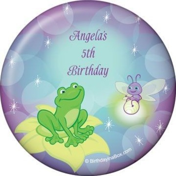 Frog Princess Personalized Magnet (each)