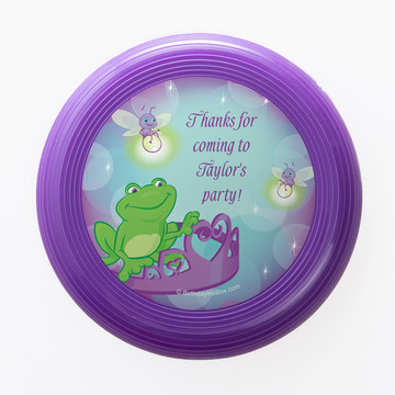 Frog Princess Personalized Mini Discs (Set of 12)