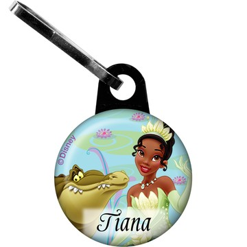 Frog Princess Personalized Mini Zipper Pull (Each)
