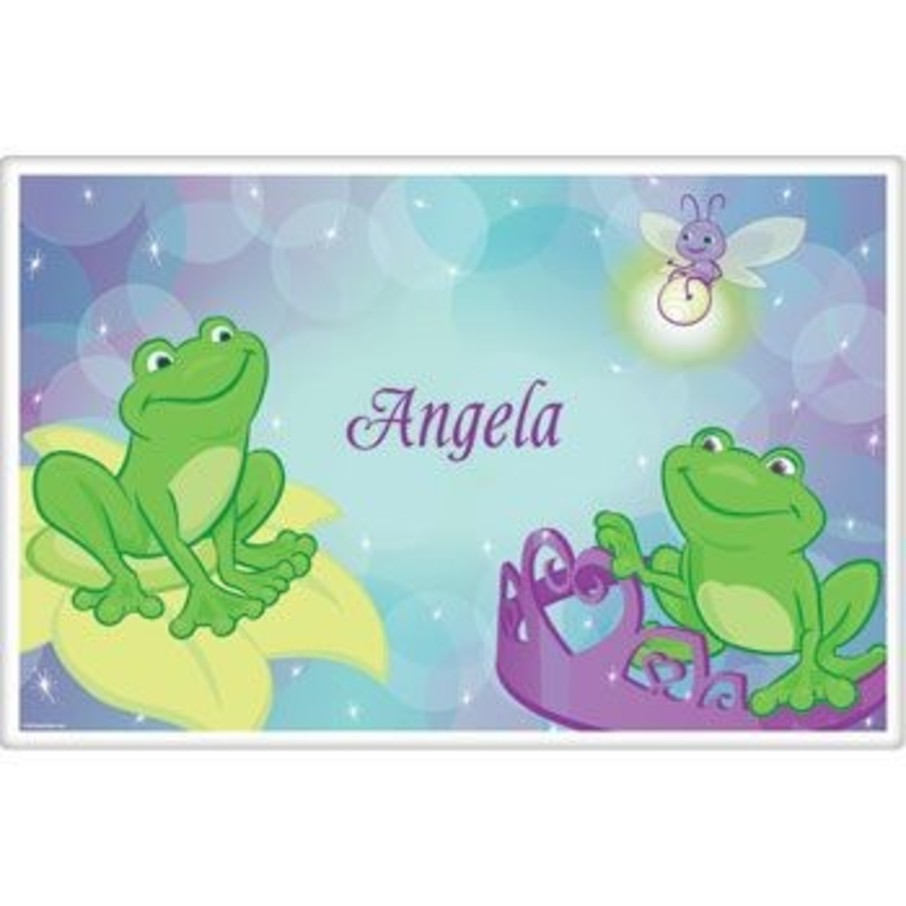 View larger image of Frog Princess Personalized Placemat (each)
