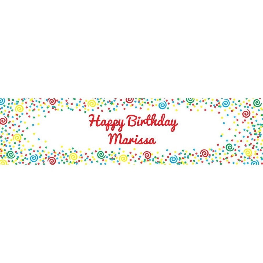 View larger image of Frosted Cake Personalized Banner (Each)