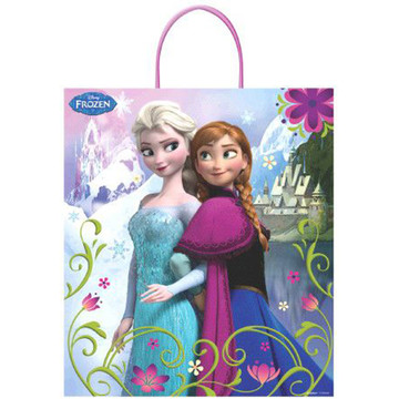 "Frozen 16"" Plastic Tote Bag (Each)"