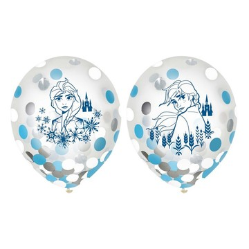 "Frozen 2 12"" Latex Confetti Balloons (6ct)"