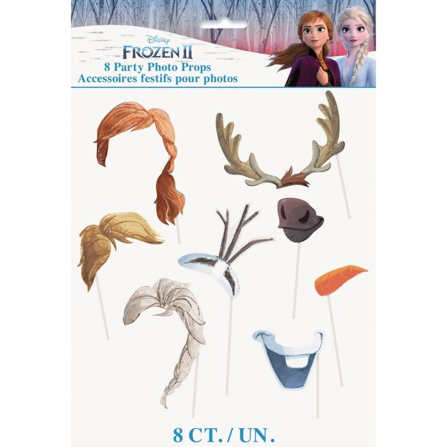 View larger image of Frozen 2 Photo Booth Props (8pcs)