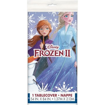 "Frozen 2 Plastic Tablecover 54""x84"""