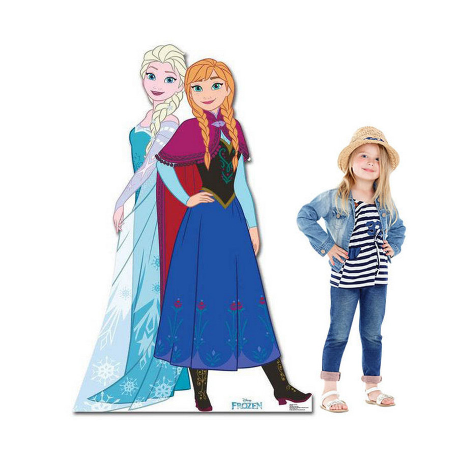 View larger image of Frozen Anna and Elsa Stand Up