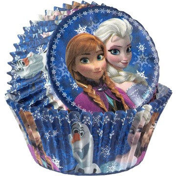 Frozen Cupcake Baking Cups (50 Pack)