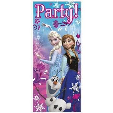 Frozen Door Poster Decoration (Each)