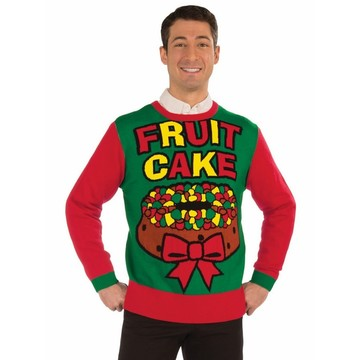 Fruit Cake Christmas Swerater