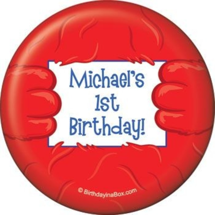 View larger image of Fuzzy Friends 1st Birthday Personalized Magnet (each)