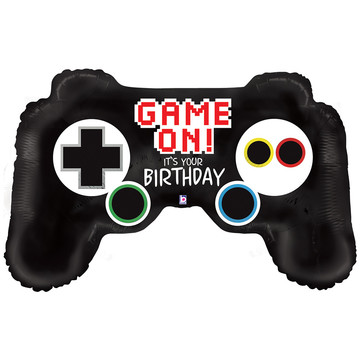 "Game Controller Birthday 36"" Balloon"