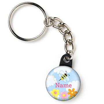 "Garden Personalized 1"" Mini Key Chain (Each)"