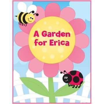 Garden Personalized Coloring Book (each)