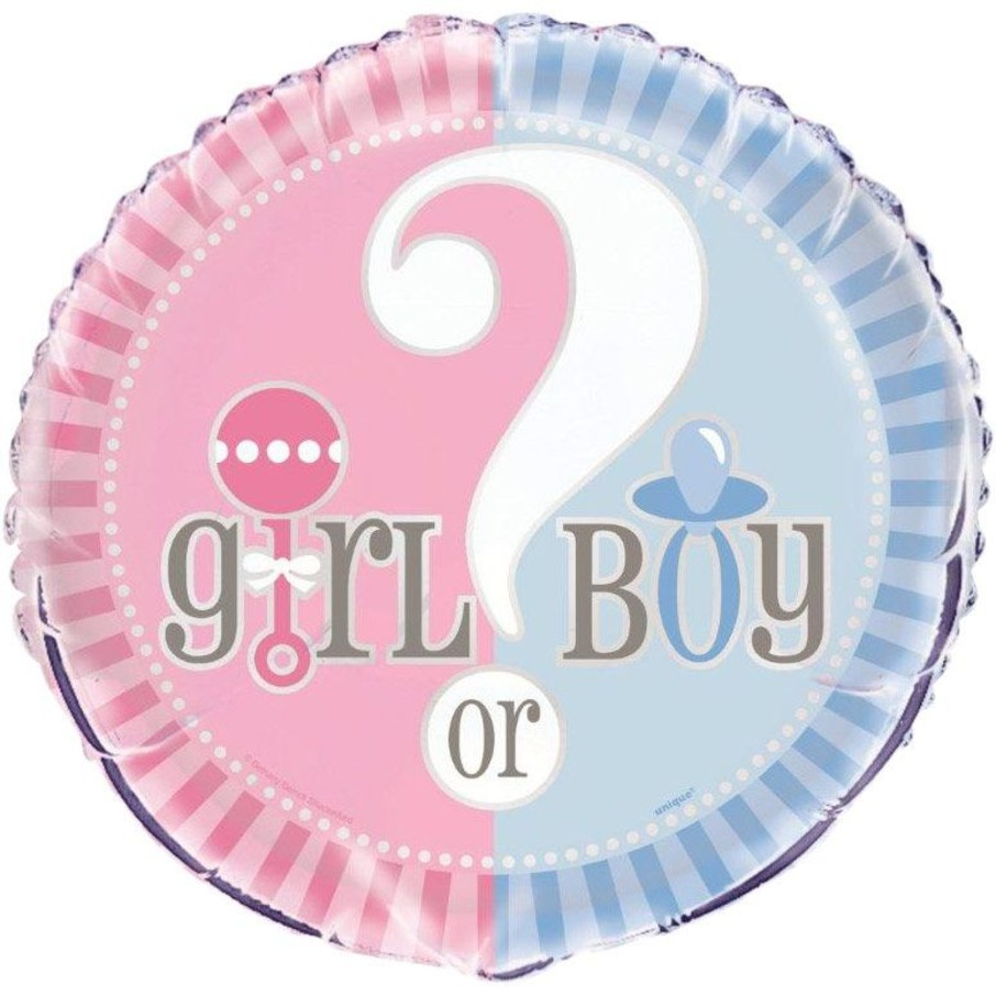 """View larger image of Gender Reveal 18"""" Foil Balloon (Each)"""
