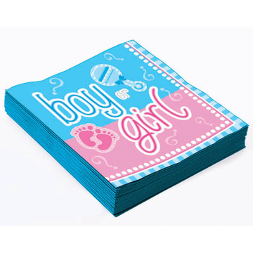 Gender Reveal Beverage Napkins (16)