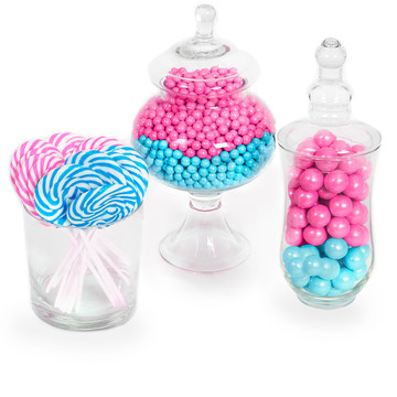 Gender Reveal Candy Kit Blue Pink