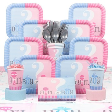 Gender Reveal Deluxe Kit (Serves 20)