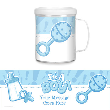 Gender Reveal: It's a Boy Personalized Favor Mug (Each)