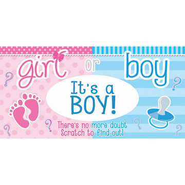 Gender Reveal Lotto Tickets- It's a Boy (12)