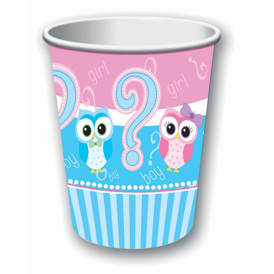 View larger image of Gender Reveal Paper 9oz Cup (8)