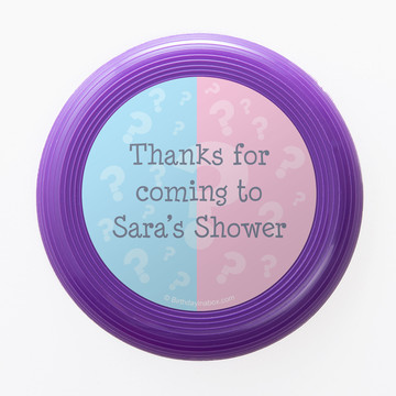 Gender Reveal Personalized Mini Discs (Set of 12)