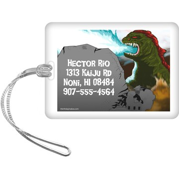 Giant Monster Personalized Luggage Tag (Each)