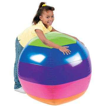 "Giant Rainbow 30"" Beach Ball (Each)"