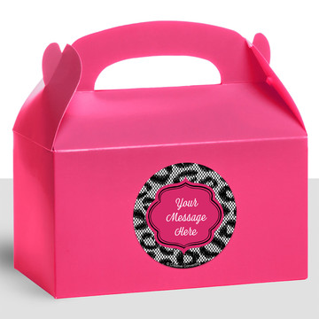Girl's Night Out Personalized Treat Favor Boxes (12 Count)