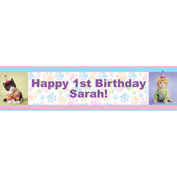 Glamor Cats by Rachael Hale Personalized Banner (1)