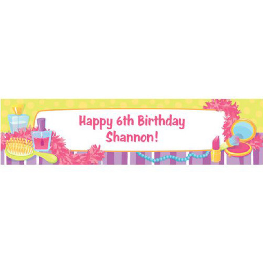 View larger image of Glamorous Party Personalized Banner (each)